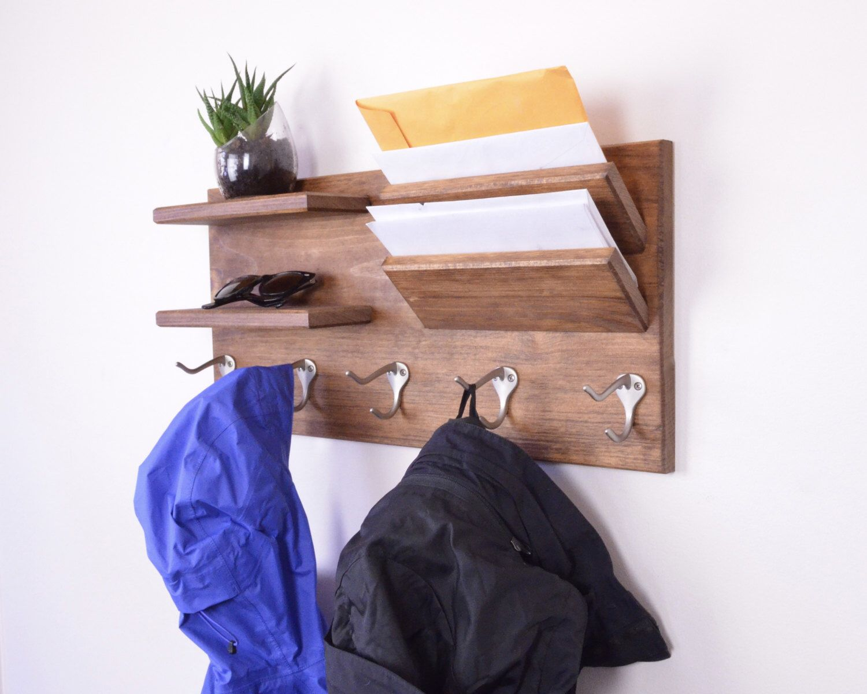 wall coat rack entry organizer wall organizer coat rack wall hook