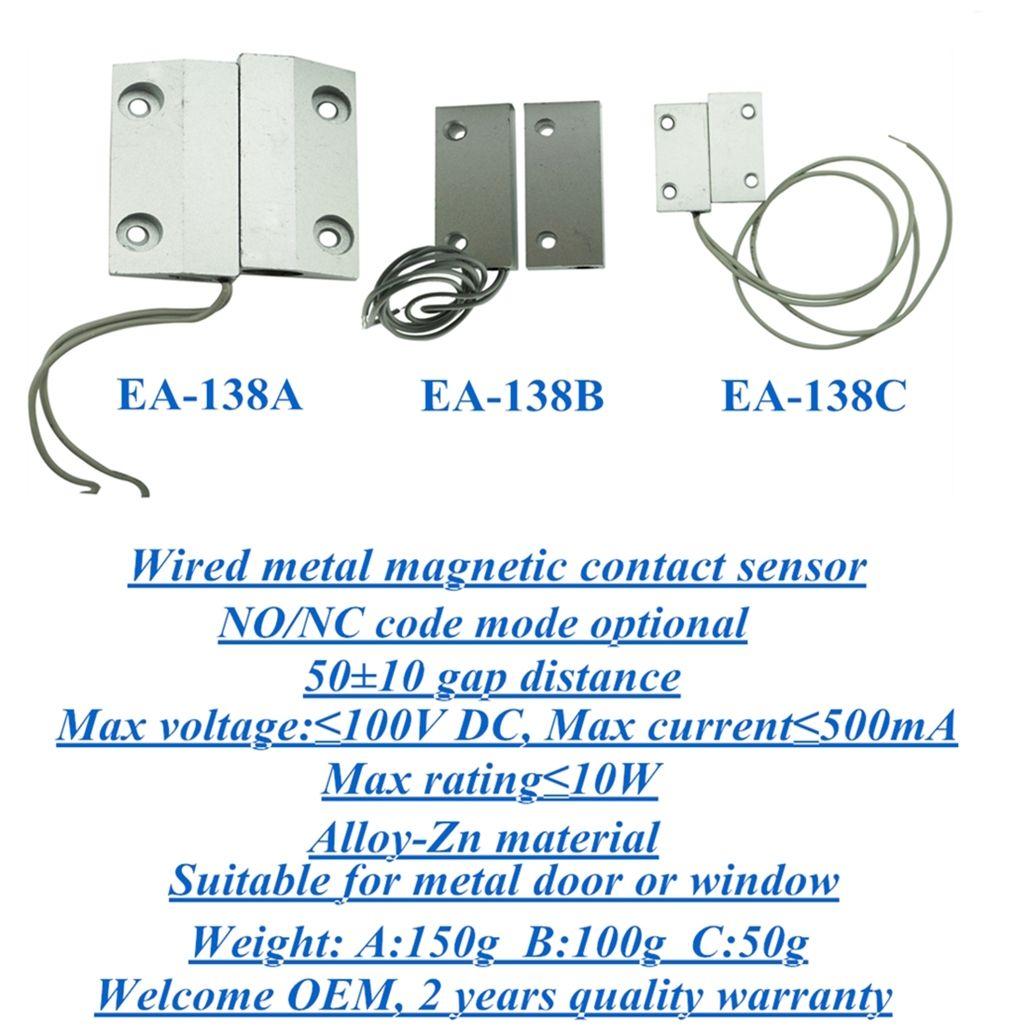 Alloy magnetic contact sensor EB-138