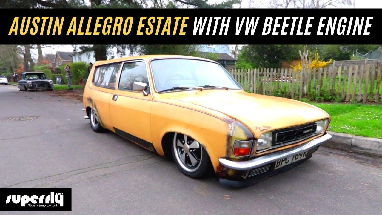 Retro Car Austin Allegro Estate With Vw Beetle Engine Vw Beetles Retro Cars Beetle