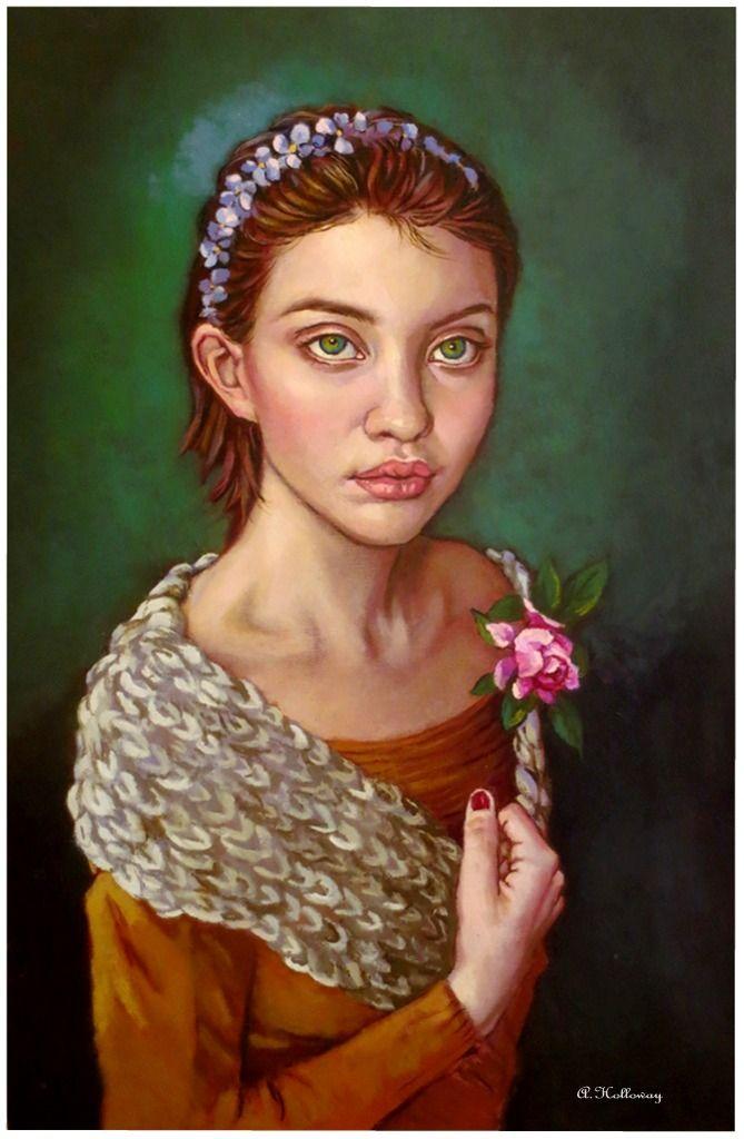 Christiana (oil on linen canvas) by xxaihxx on DeviantArt