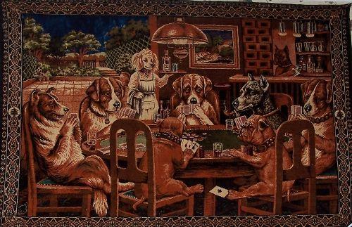Dogs Playing Poker By Shaevonmarsh On Pinterest Las
