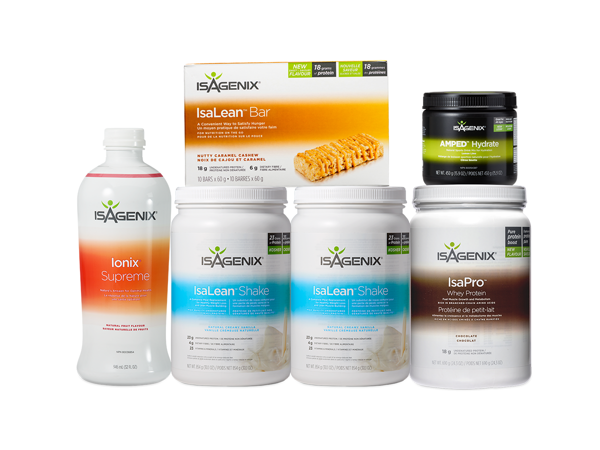 Athlete's Pak™ US also available in Canada from Isagenix