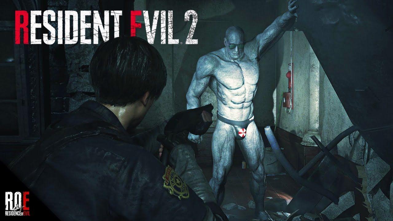 resident evil 2 remake mr x wallpaper