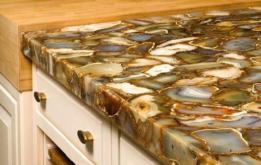 Great Geode Countertops, The New Granite @Mallory Moore