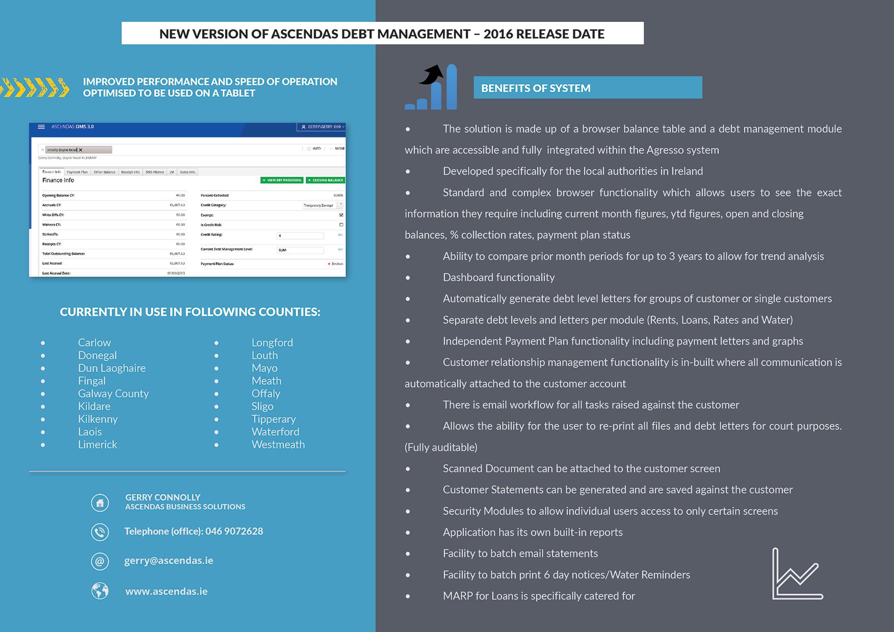 Conference Brochure Design Ascendas Back Page  Graphic Design