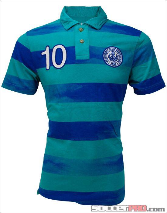 a62b8751b Nike Barcelona Covert Vintage Polo - Turquoise with Royal...$58.49 ...