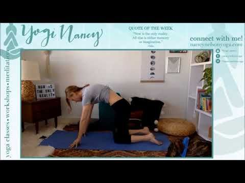 yin yoga  meditation on presence  youtube  easy