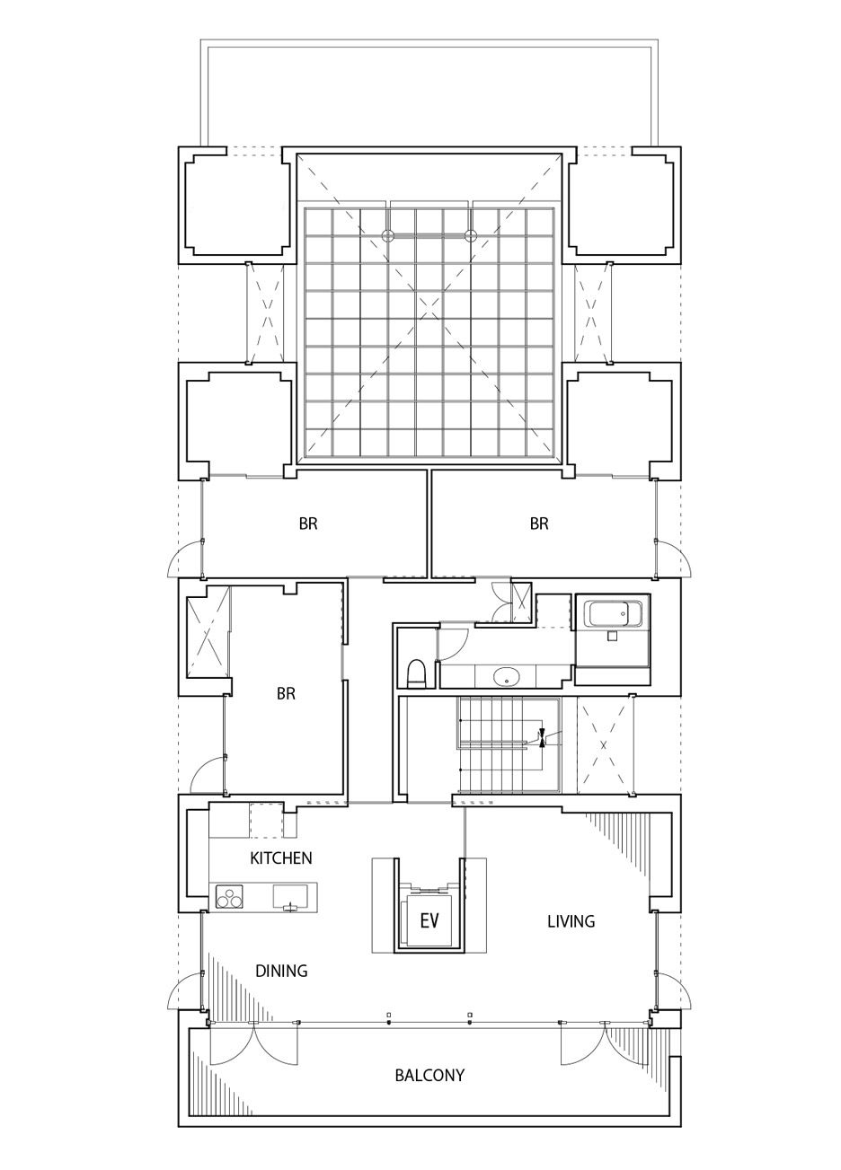 Toru Kashihara Architects Design Stepped Concrete Temple In Tokyo Architect Design Architecture Plan Architect
