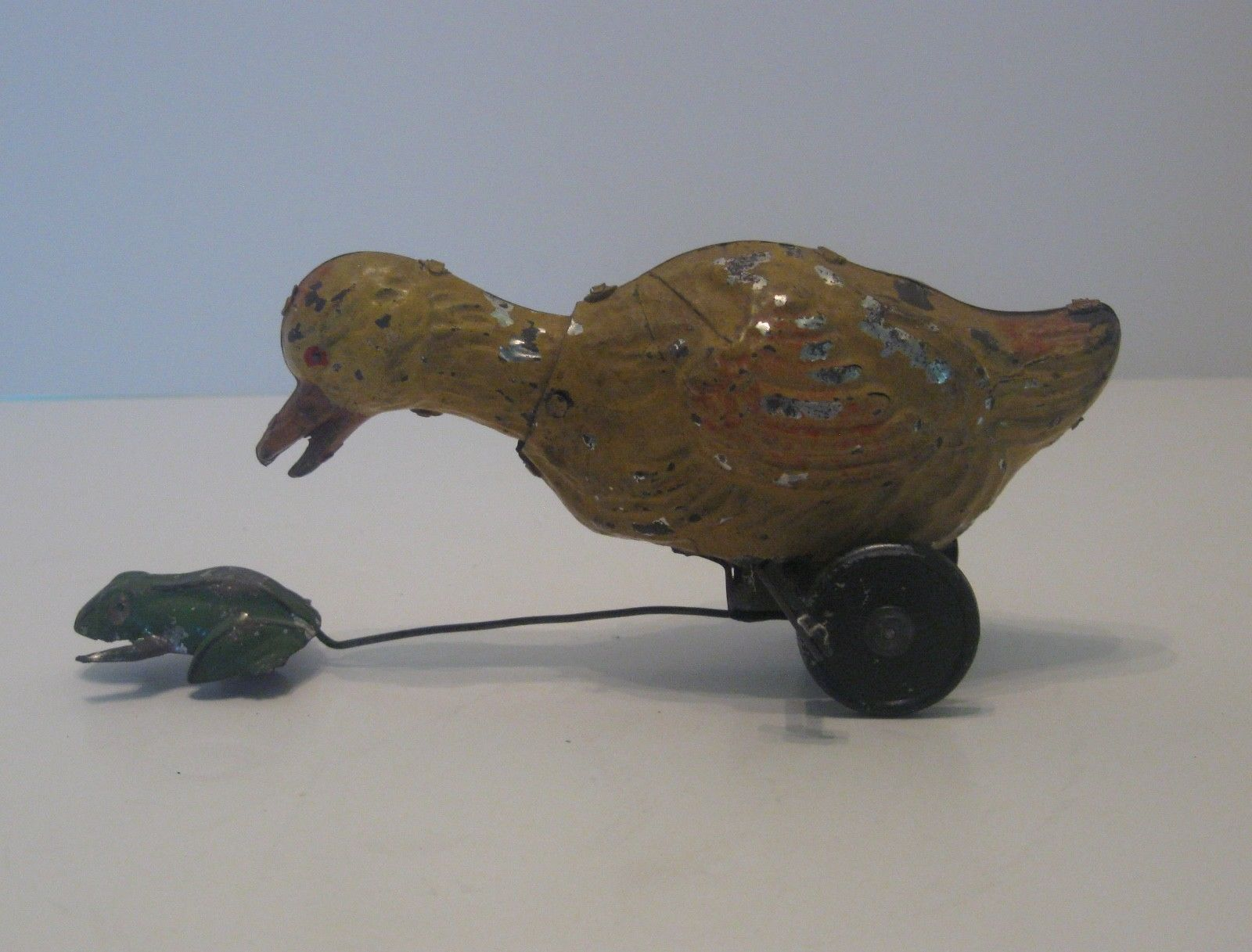 toys #vintagetoys Early Unusual Tin Wind-Up Gunthermann Germany Duck ...
