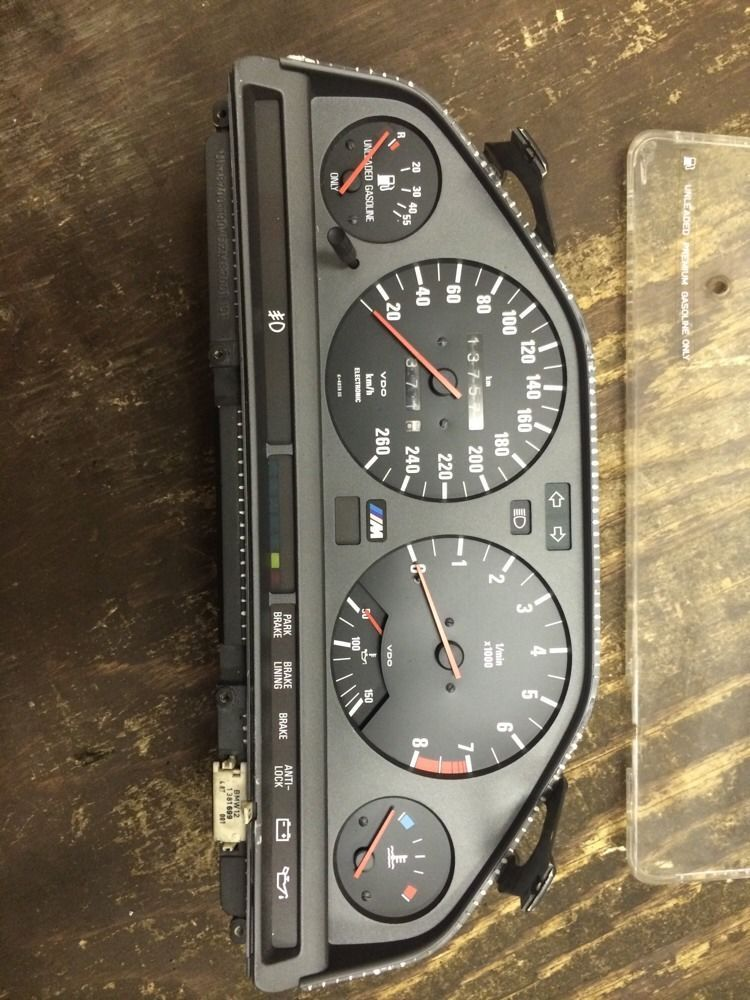bmw e30 m3 canadian cluster TESTED WORKING | Pip, Sabine