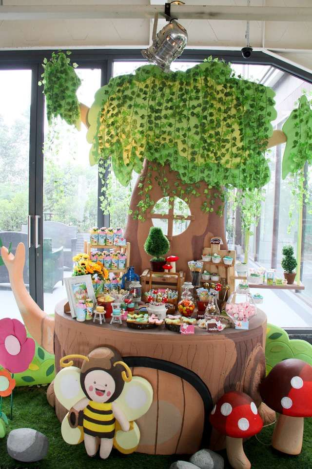 fairy garden Birthday Party Ideas | Garden birthday parties, Garden ...
