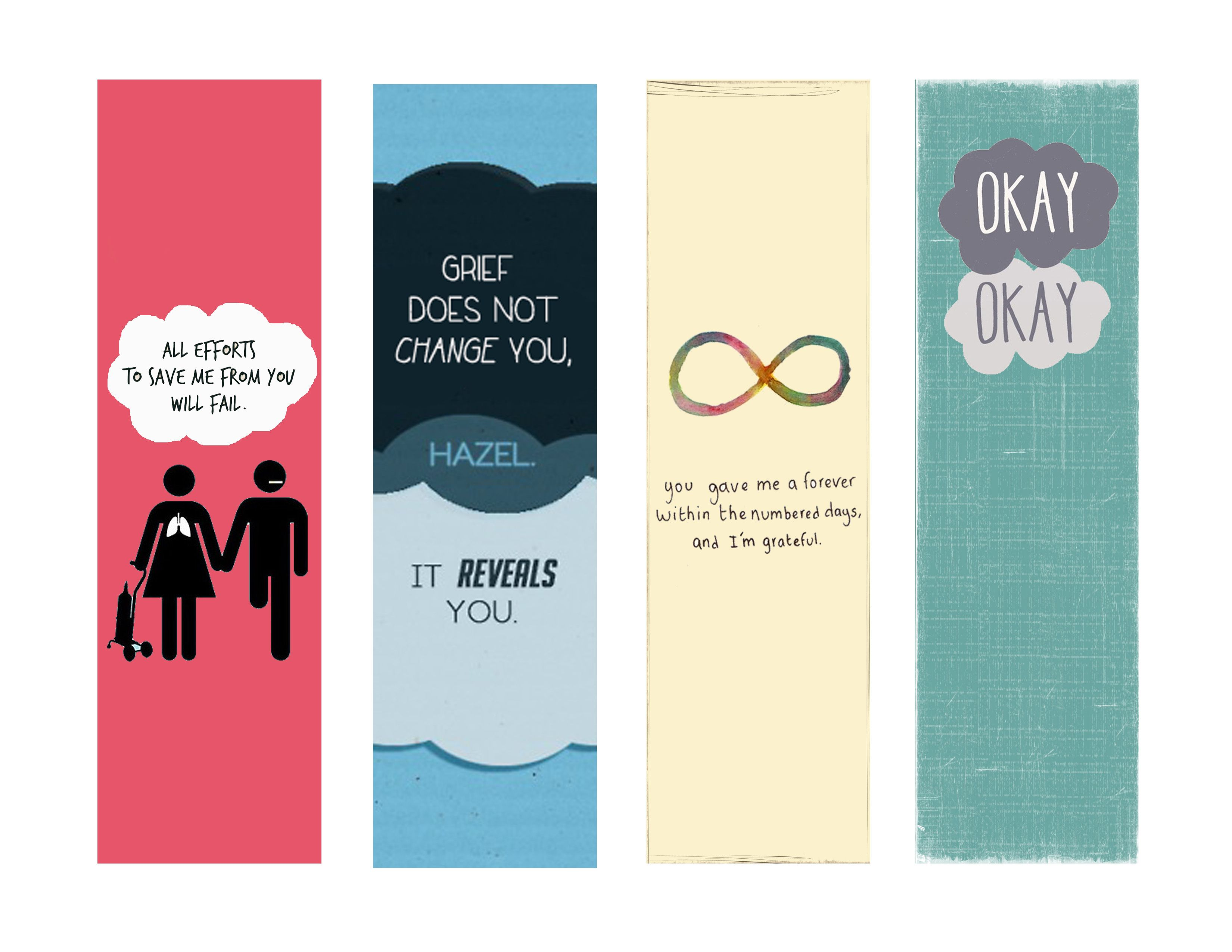 resume The Fault In Our Stars Resume fault in our stars bookmarks google search free printables the set file shared