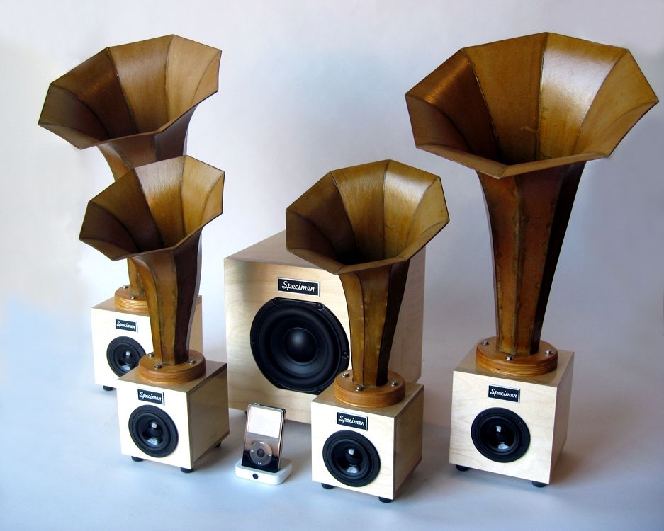 Specimen Horn Speakers