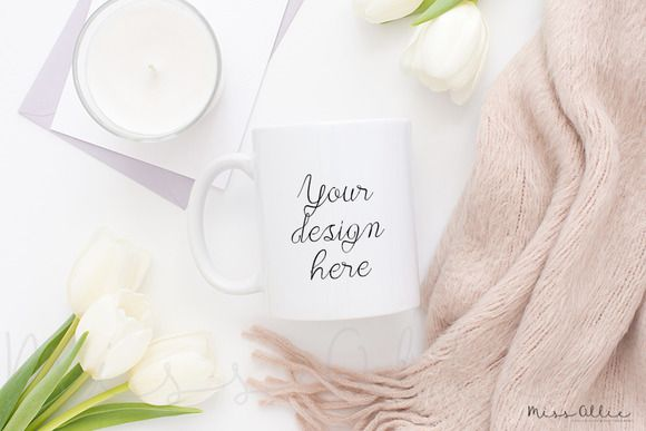 Coffee mug styled stock by Miss Ollie on @creativemarket
