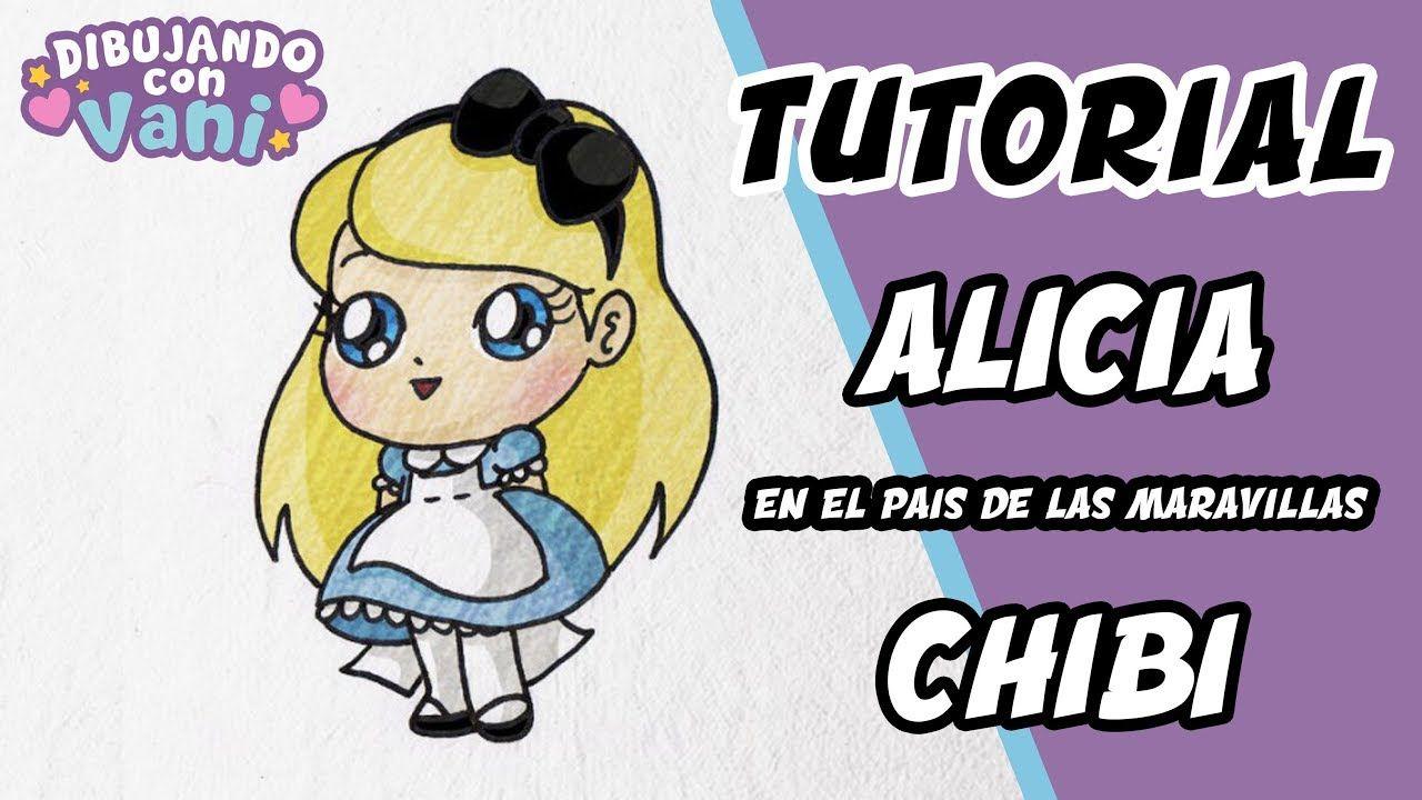Como Dibujar A Alicia Paso A Paso En Estilo Chibi Dibujos Kawaii