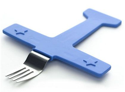 Airplane fork.