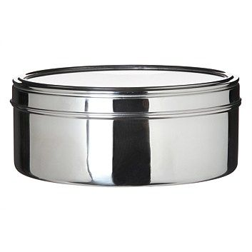 Food Storage Containers   Briscoes   Evolution 26cm Stainless Steel Cake Tin