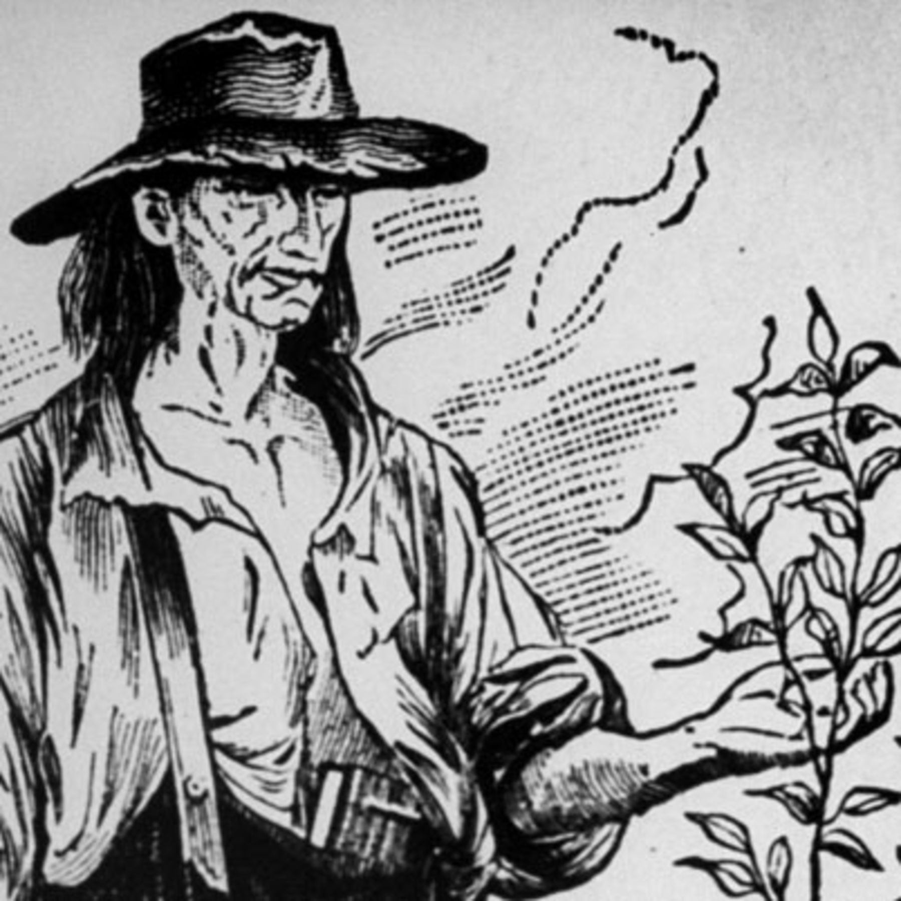 Johnny Appleseed Is A Folk Hero Based On Frontier