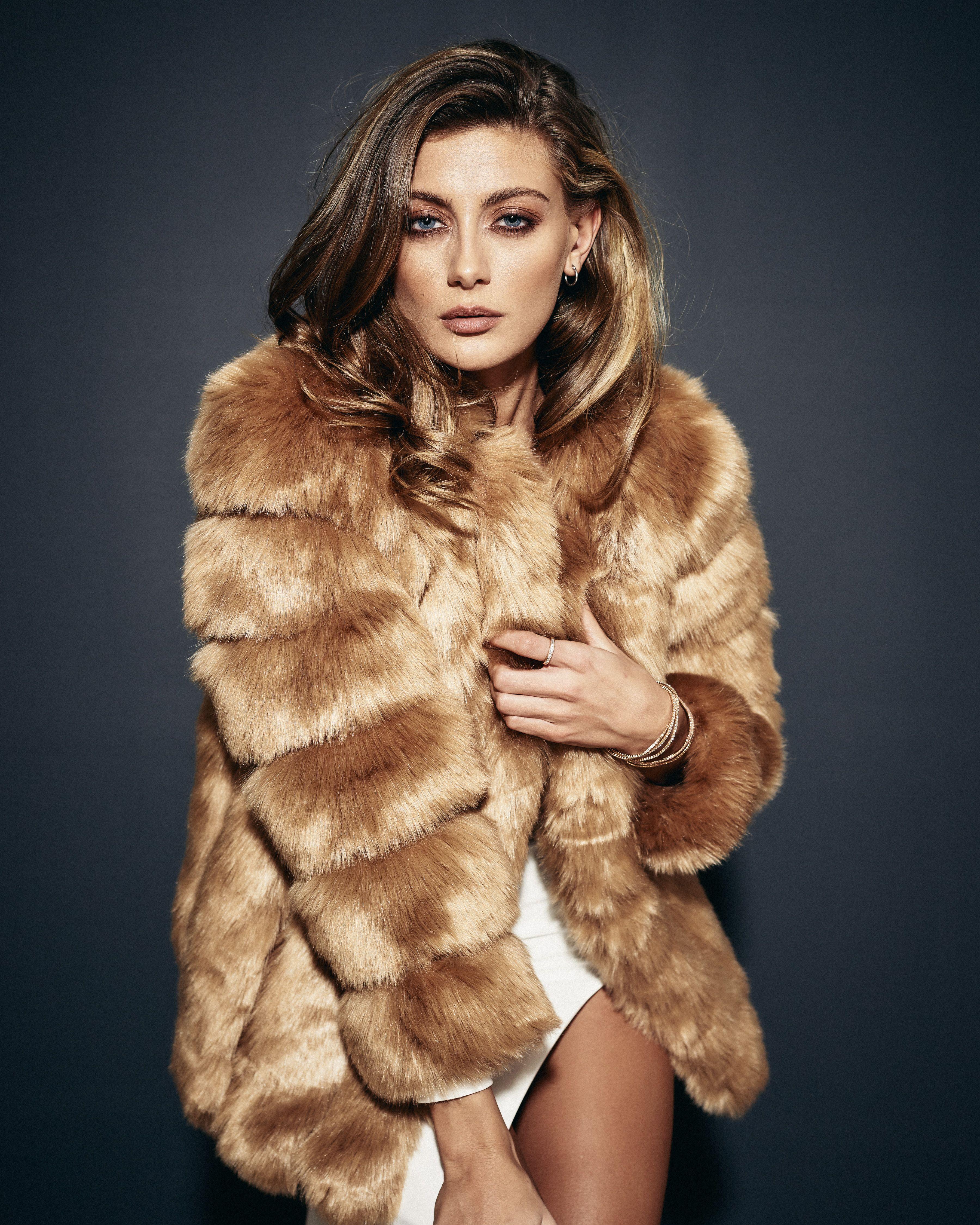 d7168a8dd Amo Couture Chestnut Renaissance Faux Fur Coat | LBD Winter ...