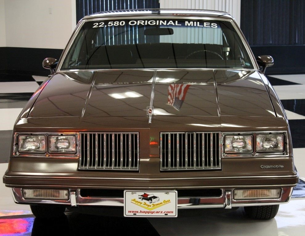 1984 Olds Cutl Supreme With Under 24 000 Miles