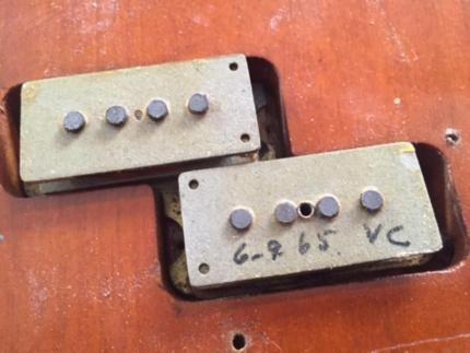 Fender Precision Bass USA 1965 in Baden-Württemberg - Wallhausen | Musikinstrumente und Zubehör gebraucht kaufen | eBay Kleinanzeigen