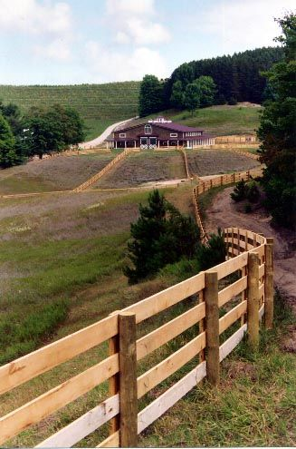 ranch fencing | ... woven wire driven posts farm supplies for all of ...
