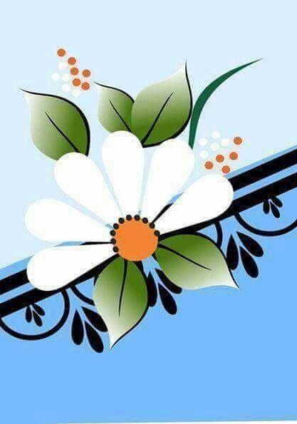 Pin By Andreia Kunz On Adesivos De Unha Pinterest Flower Clipart