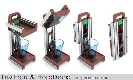 The LumiFold 3DPrinter - inexpensive, resin-based 3D printer