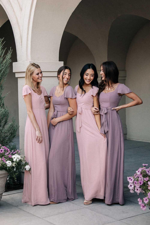 Florence Sweetheart Maxi Dress In Blush Bridesmaid Dresses Purple Wedding Dress Modest Bridesmaid Dresses [ 1500 x 1000 Pixel ]