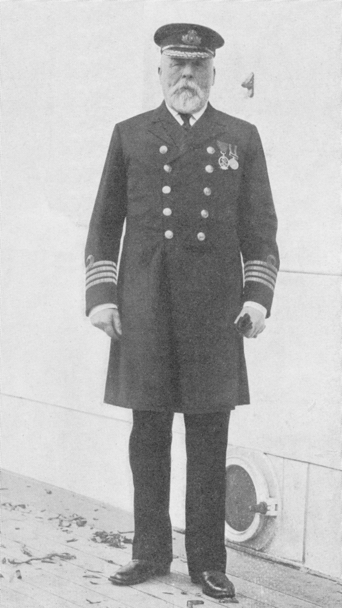 Pin George Hartpence Titanic Captain . Smith
