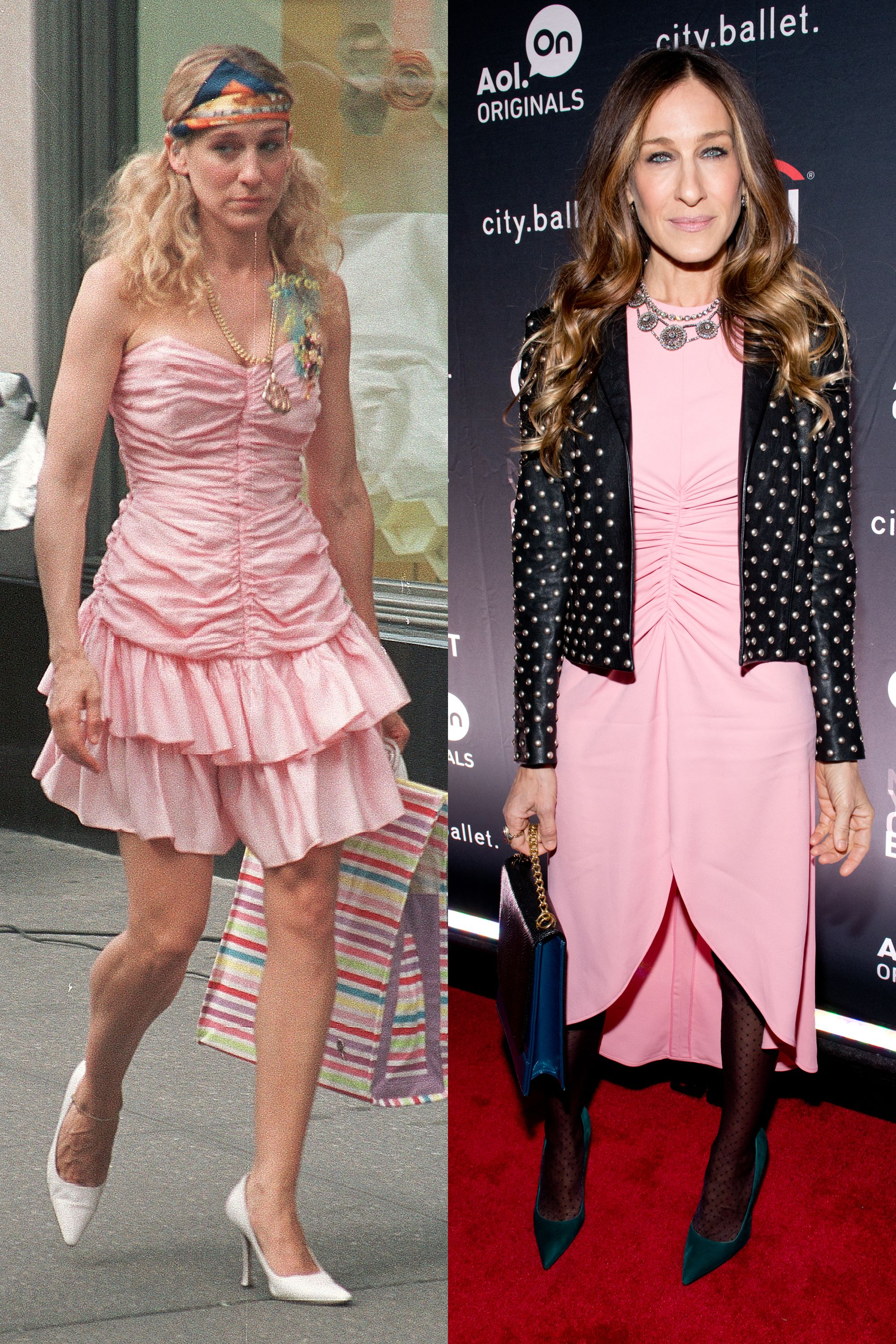 50 Times Sarah Jessica Parker Dressed Like Carrie Bradshaw in Real ...