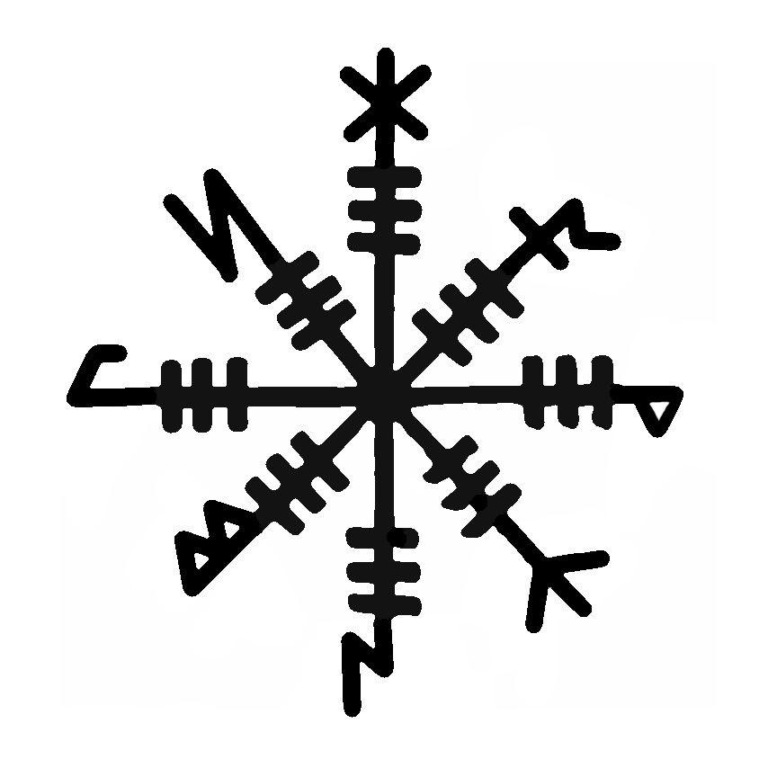 Norse Mythology Symbols Valkyrie 34631 Loadtve