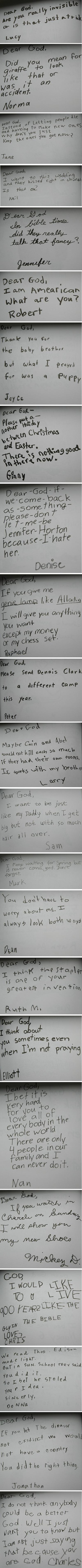 Little kids...