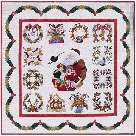 baltimore christmas quilt