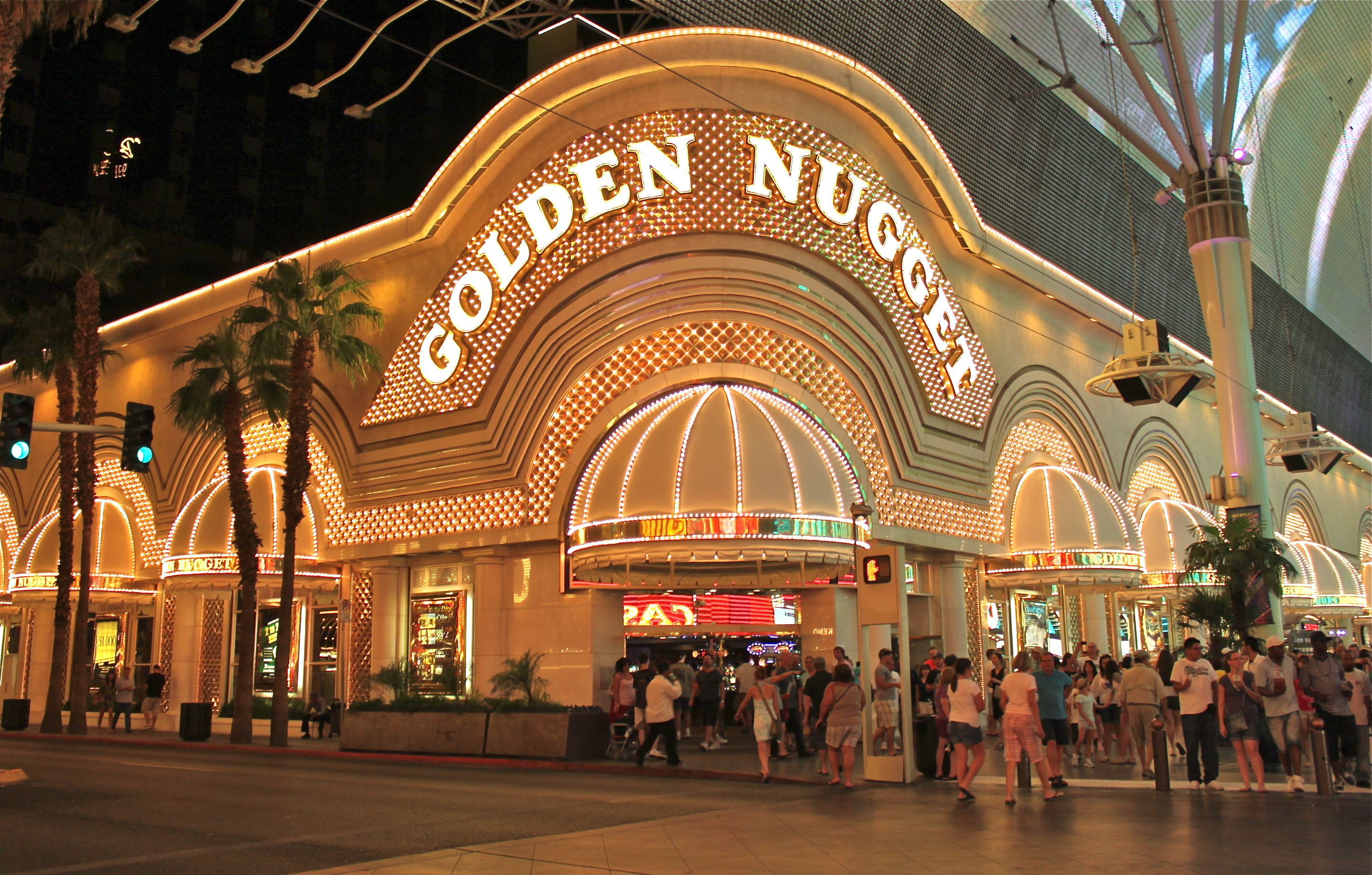 The Golden Nugget Hotel In Las Vegas A Setting In The Novel A