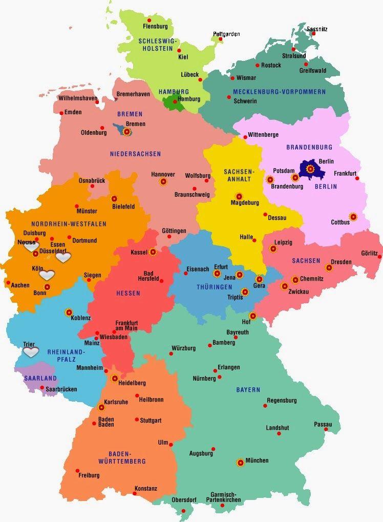 Neuss Deutschlandkarte Deutschlandkarte Neuss Deutschlandkarte