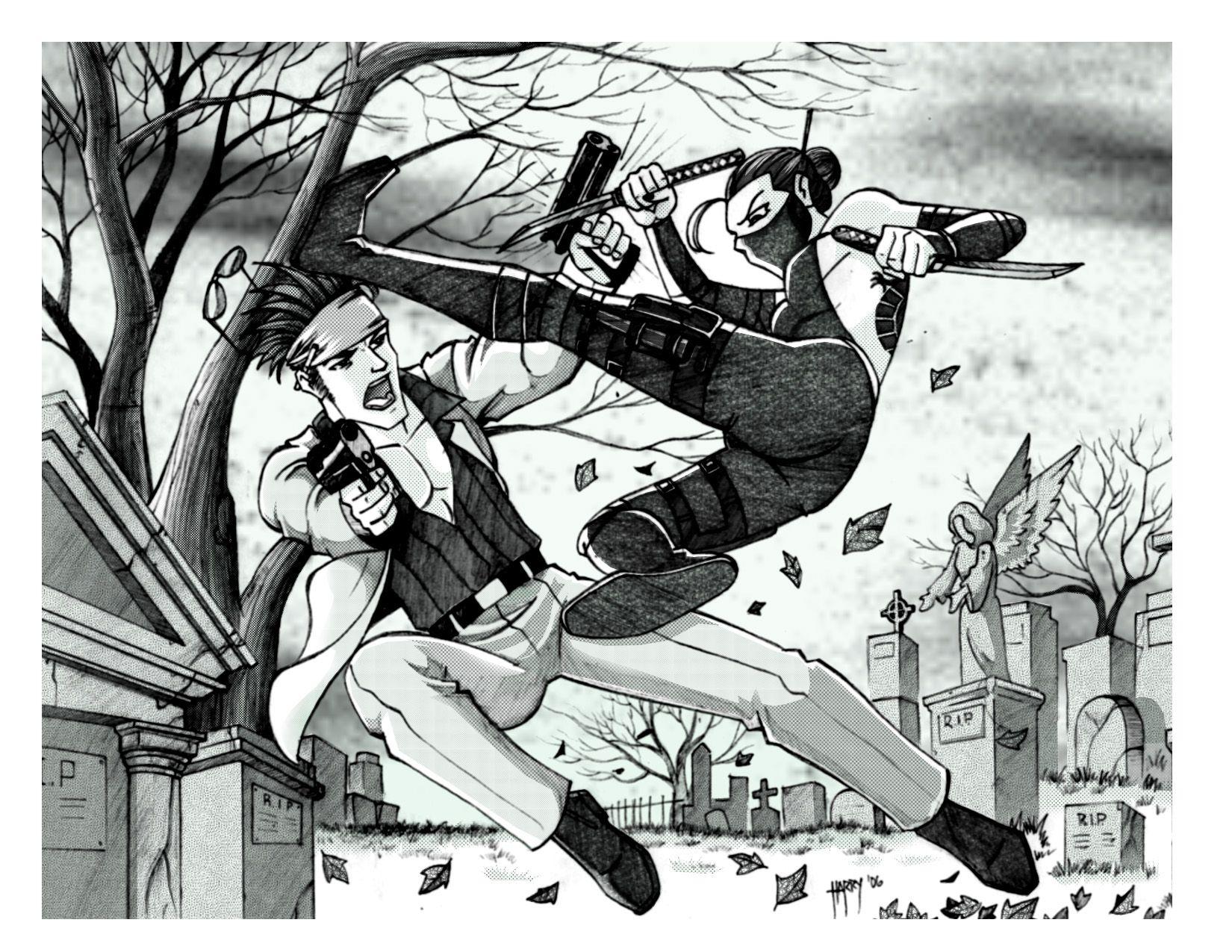 Fight Scene By Harrybognot On Deviantart Anime Fight Scene Anime
