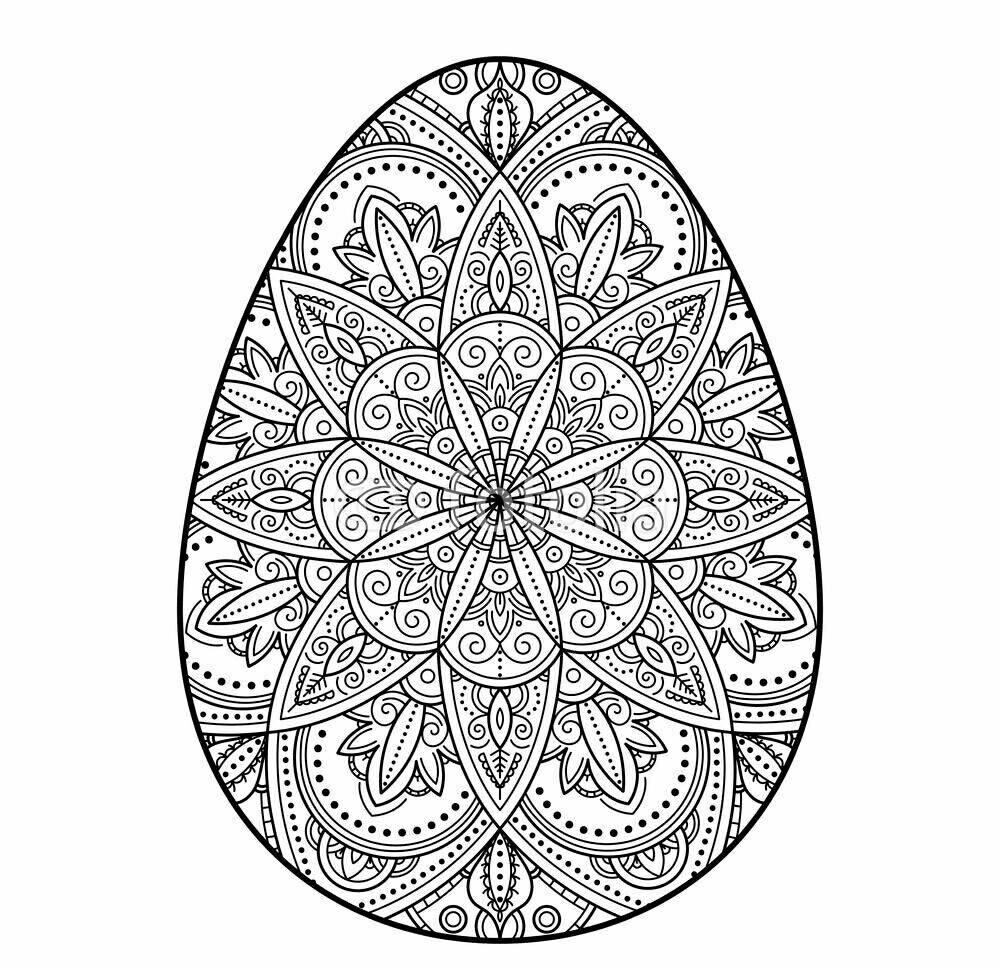 Pin By Mercedes Barrena On Easter Easter Egg Coloring Pages Egg Coloring Page Coloring Easter Eggs