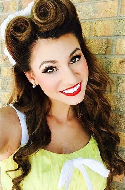 Amazing Victory Rolls | Elle Belly | Vintage inspired hair ...