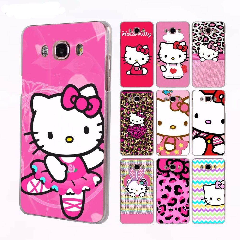 buy online b2334 b2804 Hello Kitty Protective Phone Case for Samsung Galaxy J2 J5 J6 J7 J2 ...