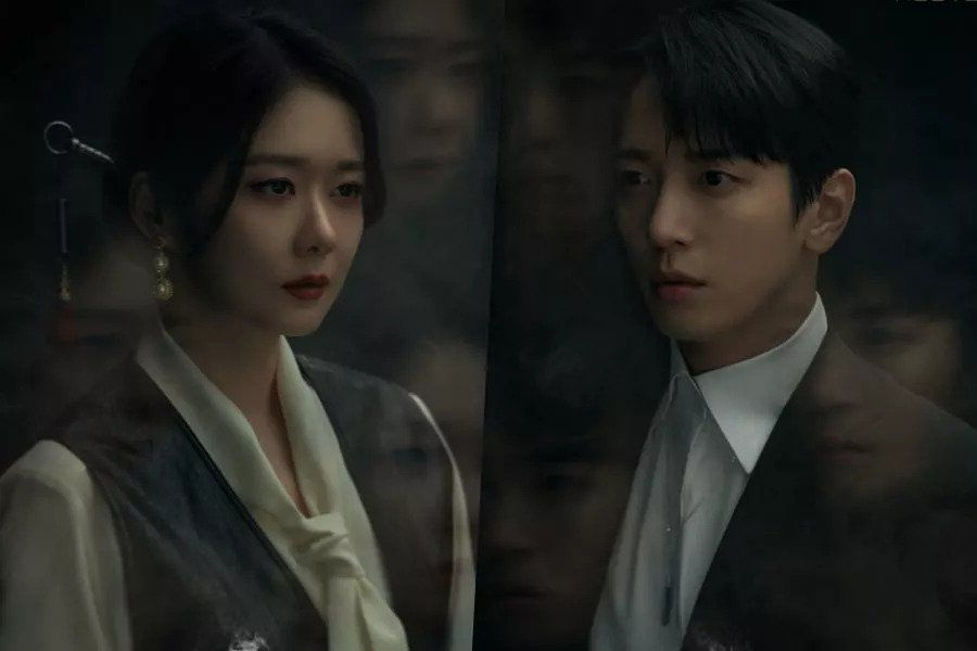 "Jang Nara And CNBLUE's Jung Yong Hwa's Sinister Character Posters Unveiled For ""Sell Your Haunted House"""