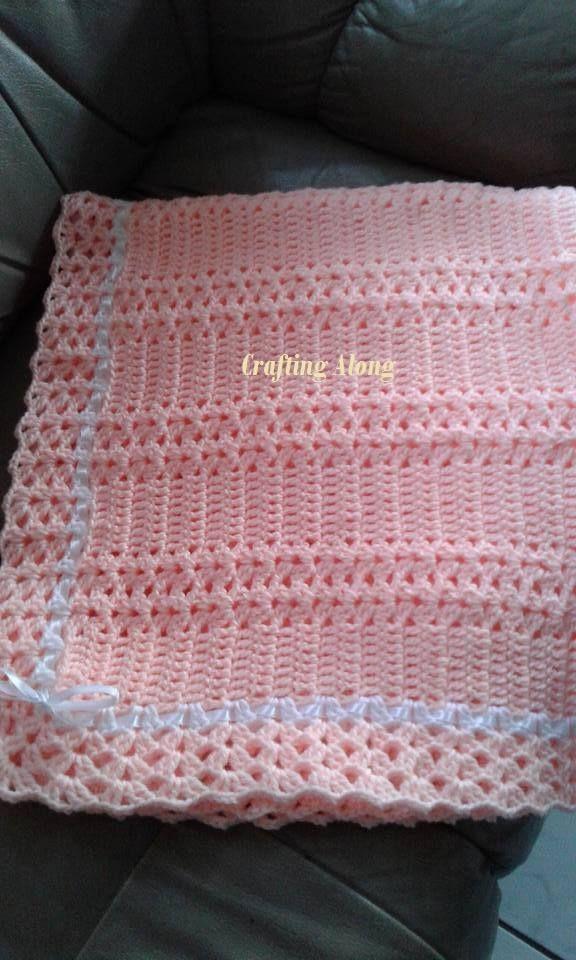 Pin de Cecile Degenaar en Baby blankets | Pinterest | Manta, Cobija ...