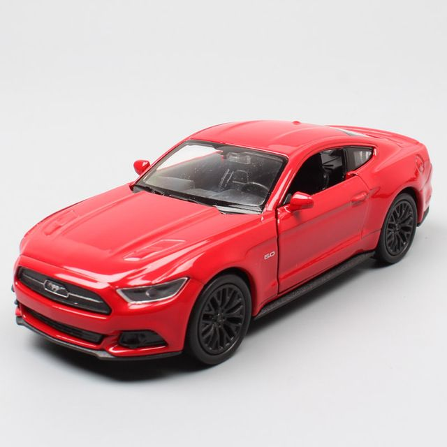 Kid 1/36 Scale Small Ford Mustang GT 2015 S550 Muscle Cars