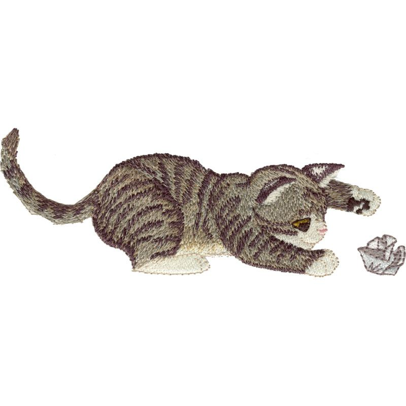 Free Embroidery Design: Cat | Free Embroidery Designs | Pinterest