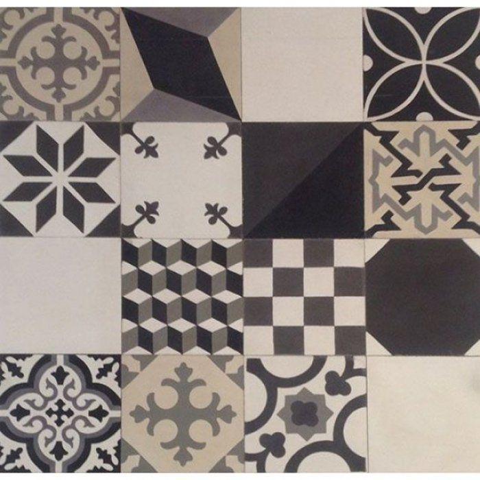 10 bonnes raisons de succomber la tendance carreau de ciment nudo mosaicos y ba os. Black Bedroom Furniture Sets. Home Design Ideas