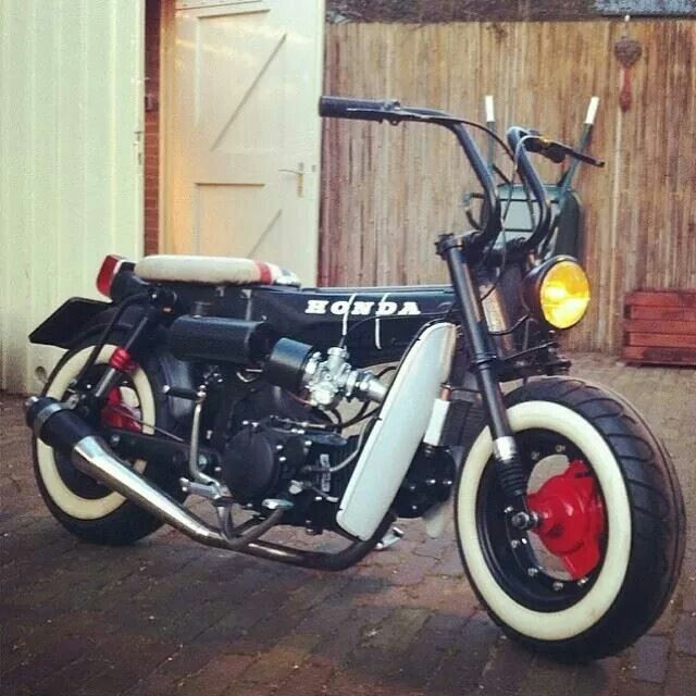 honda dax 50cc scooters pinterest honda mopeds and. Black Bedroom Furniture Sets. Home Design Ideas