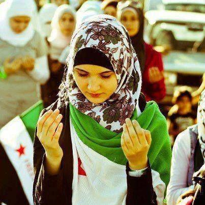Syrian Lady Praying
