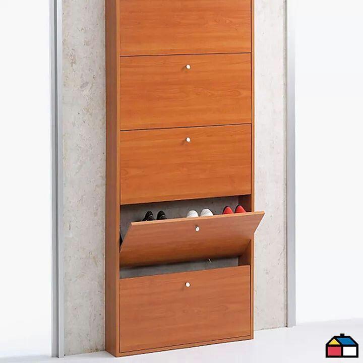 Zapatera horizontal closet pinterest zapateras for Mueble guarda zapatos