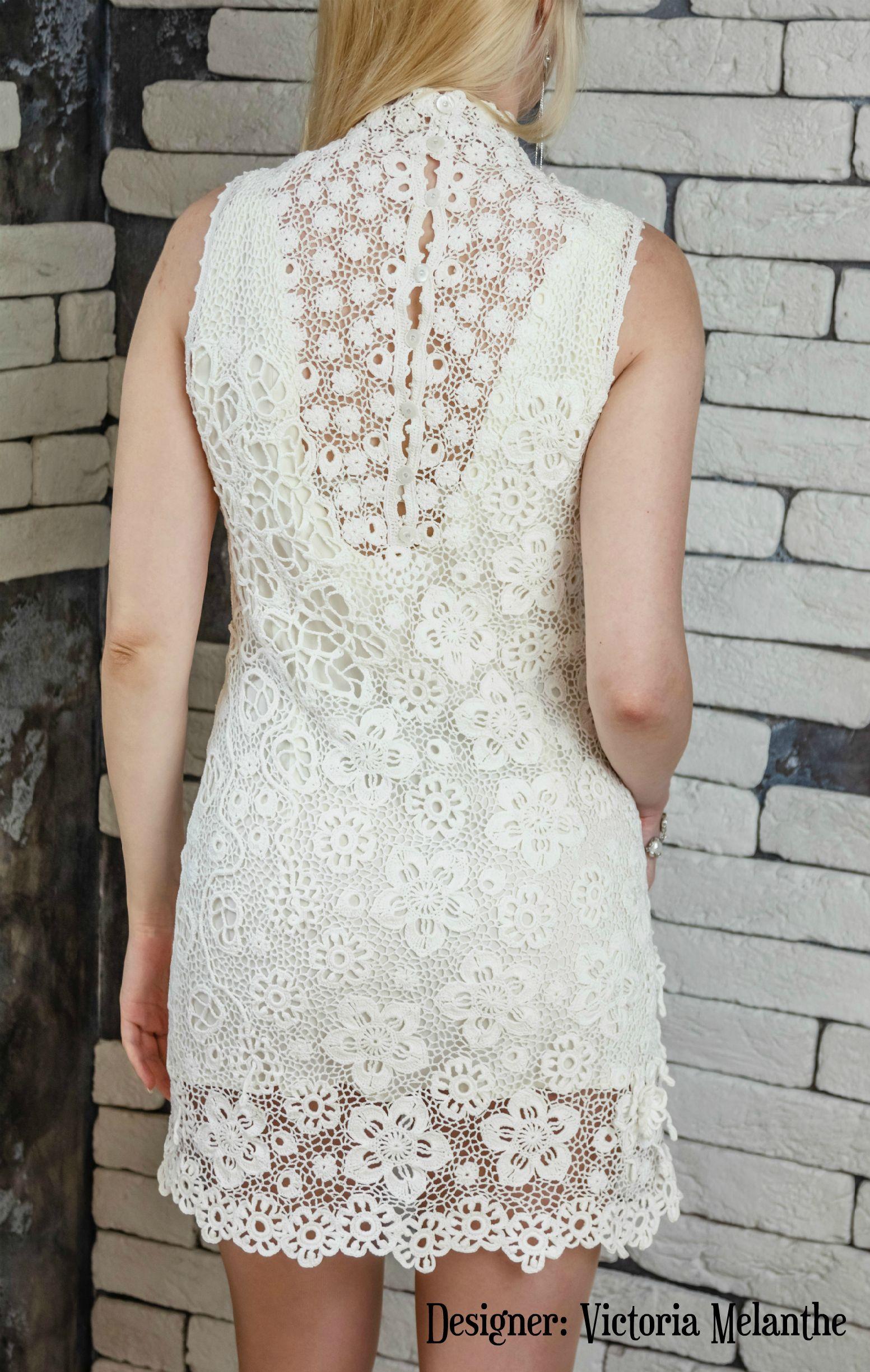 Wedding Lacy Dress Crochet Irish Lace Crochet Short Wedding Dress Irish Lace Wedding Dres Crochet Wedding Dresses White Short Dress Irish Lace Wedding Dress [ 2449 x 1553 Pixel ]