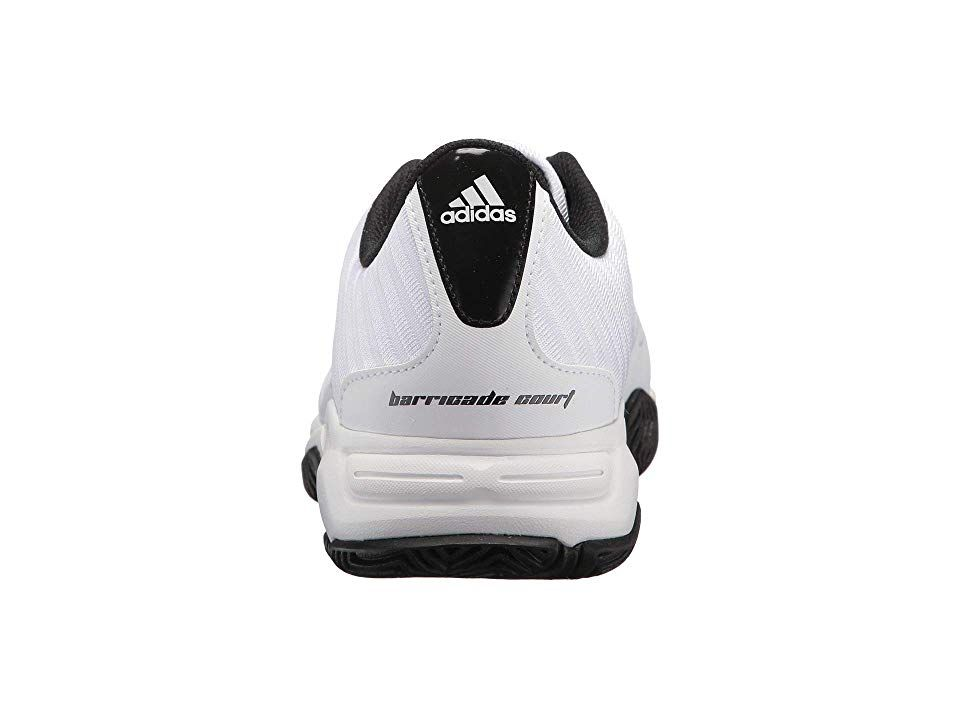 buy popular a8b84 584bd adidas Barricade Court 3 Wide Men s Tennis Shoes White Silver Black
